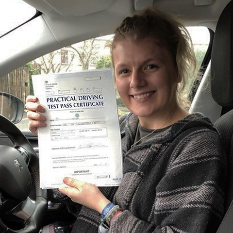 Driving lessons in Southampton test pass